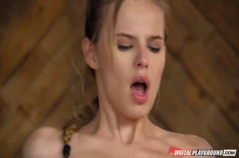 Пошлая доярка Jillian Janson захотела порнухи на большом члене #5