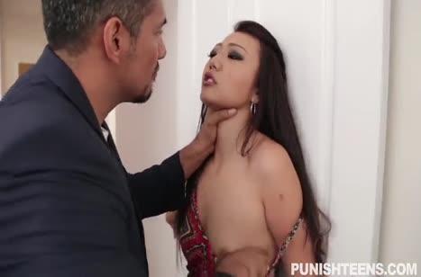 Здоровяк связывает Miko Dai и жестко ее приходует
