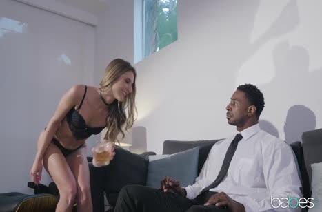Черный чел удовлетворил Tara Ashley своим здоровым пенисом #2