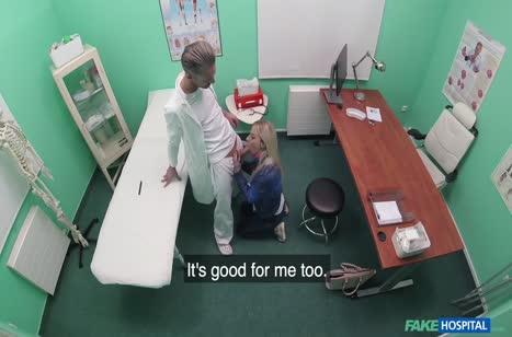 Пошлая Nathaly Cherie снимает оргию с доктором на камеру #3
