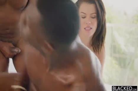 Сексуальная Peta Jensen устраивает с неграми групповуху #4