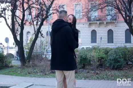 Kristy Black с бойфрендом эротично проводит время