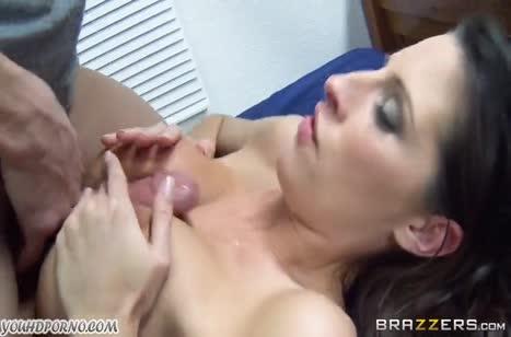 Сиськастая Kortney Kane согласилась на домашнее порно #4