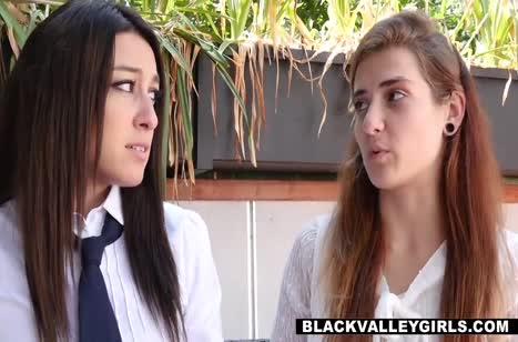 Темнокожая Chanell Heart по совету подруг соблазнила белого #3
