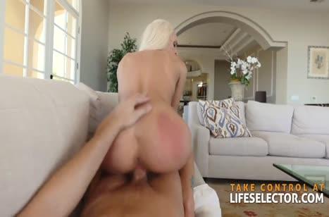 Блондинка делает минет и снимает жесткое порно с мужем #6
